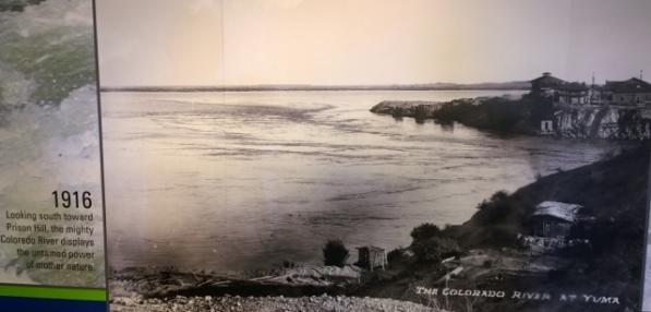 Yuma Prison hill 1916