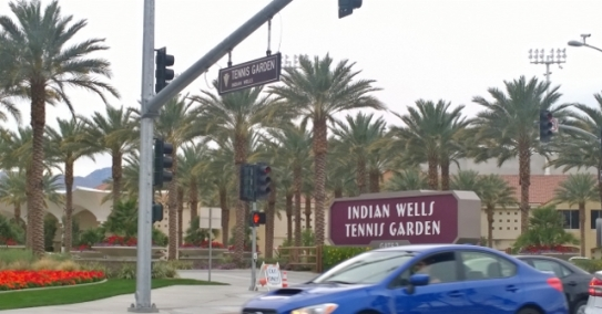 Indian Wells Tennis Tournament underway