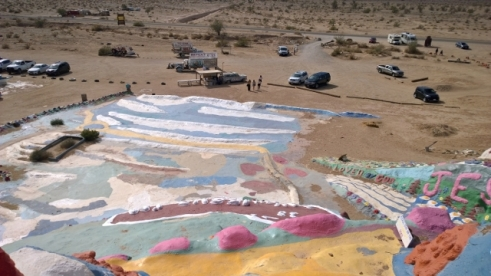 View from Salvation Mountain