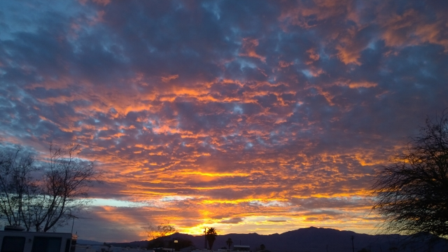 Sunset at Salton City