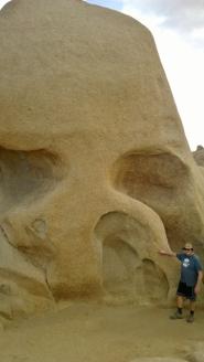 Brian at Skull Rock