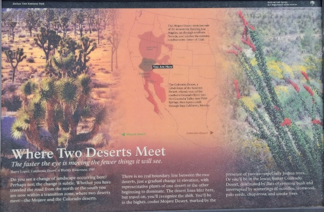 Mojave and Colorado Deserts
