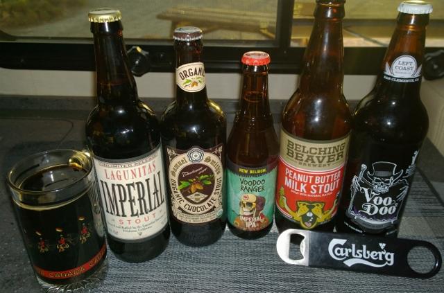 Beers sampled