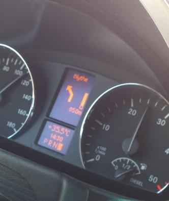 35.5 C in Palm Springs