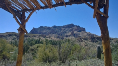 View from Curandero Trail
