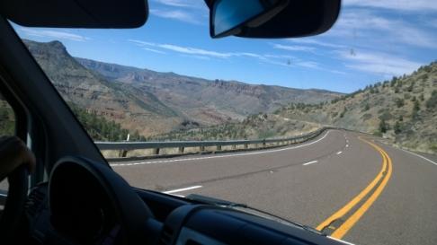 Descending to Salt River