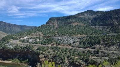 Ascending out of Salt River Canyon