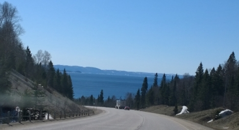 Trans Canada Highway - Lake Superior