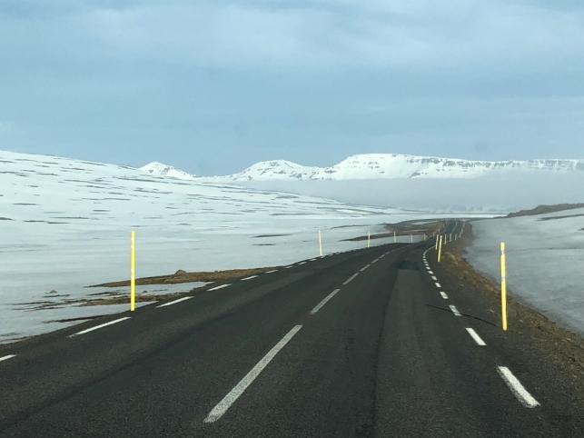 Road to Seydisfjordur