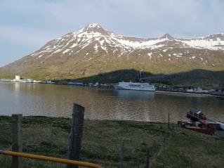 Denmark ferry in Seydisfjordur