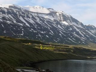 Langahlid Cottage 2 along Seydisfjordur