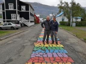 The buddies in Seydisfjordur