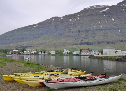 Harbour in Seydisfjordur