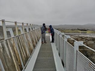 Bridge between two continents