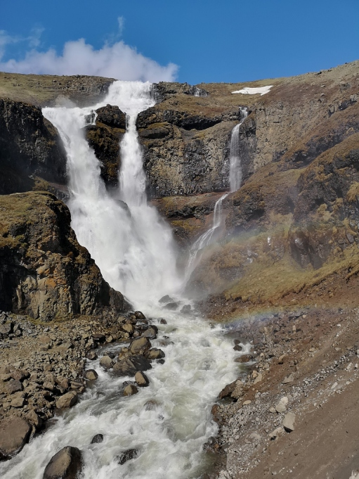 Rjukandafoss Waterfall