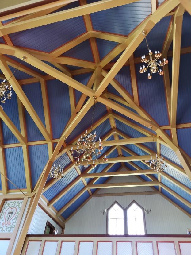 Husavik church - built like a ship
