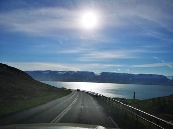Heading to Akureyri