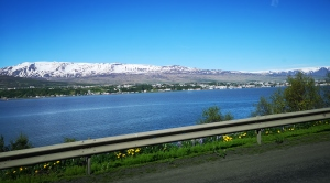 Heading out from Akureyri