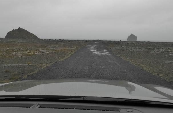 Gunnuhver Coastal road