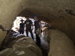 Lava Tubes in the cave