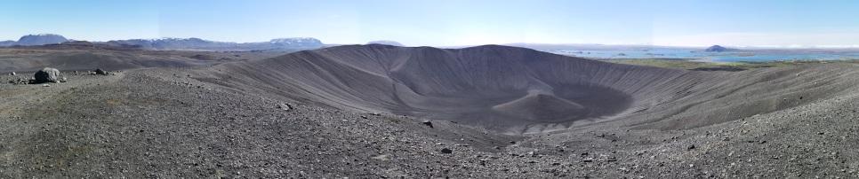 Hverfjall Crater Panoramic