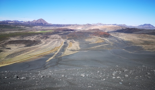 View from Hverfjall Crater