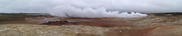 Gunnuhver Geothermal Panorama
