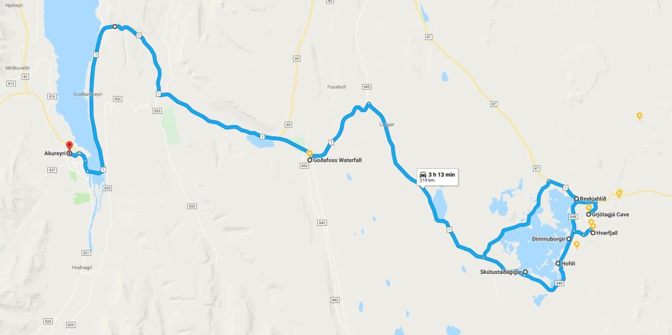 Day Five route