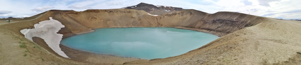 Viti Crater and Mount Krafla