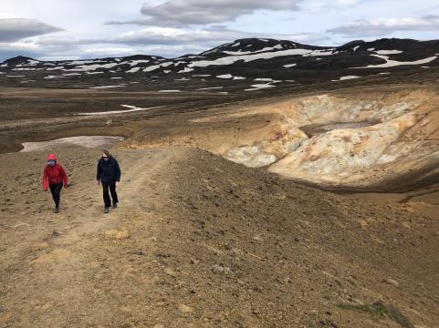 Hiking the Viti trail