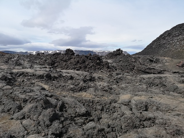 Leirhnjukur Lava flows