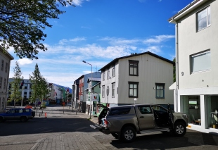 Packing up in Akureyri