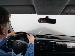 Fog sets in
