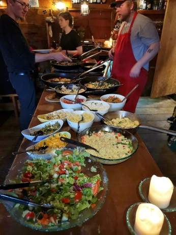 Tjoruhusid Buffet Table