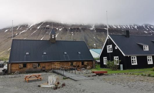 Islafjord Harbour area