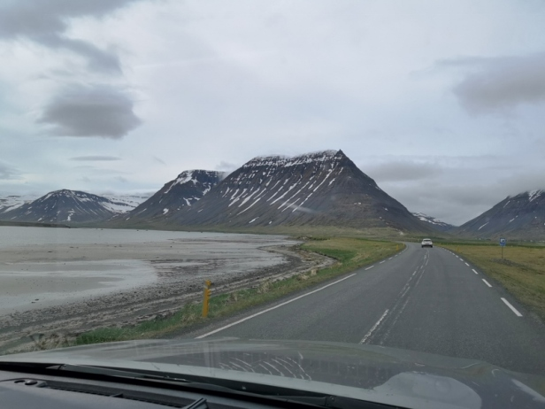 Driving in Westfjord