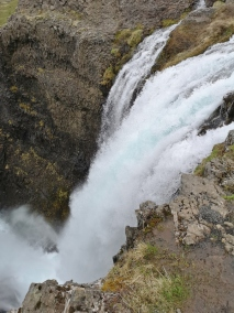 Strompgljufrafoss from the top