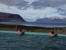 View from Reykjafjardlaug