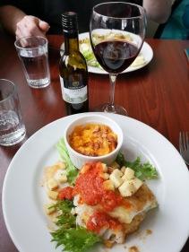 Sharon's dinner