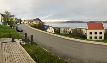 View from Patreksfjordur Guest House