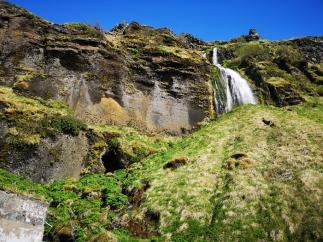 Trail by Seljalandsfoss