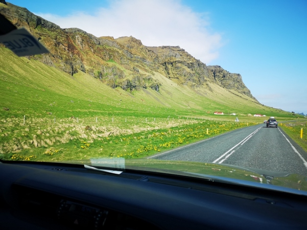 Driving Iceland Highway 1