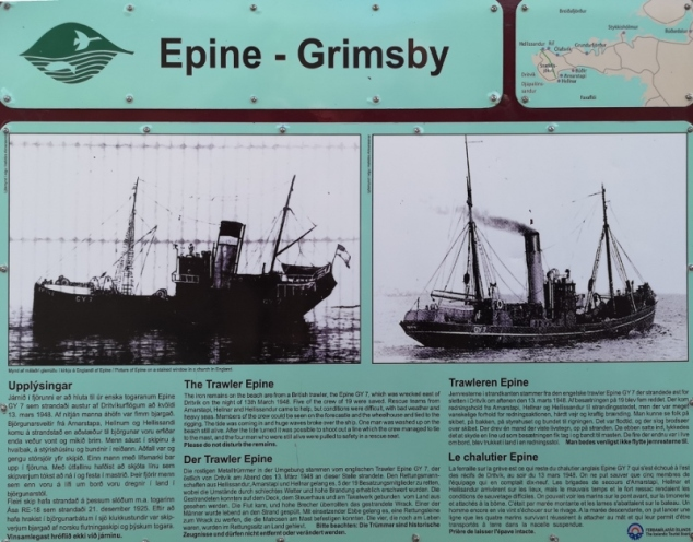Wreck of the Grimsby