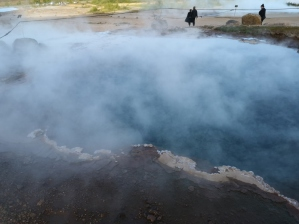 Geysir boiling pools