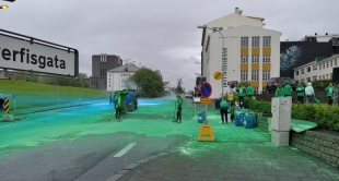 Reykjavik 2018 Colour Run