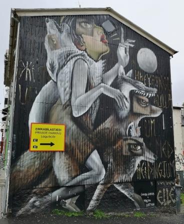 Street-art Mural