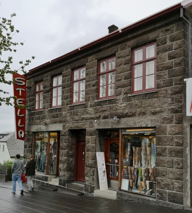 Iceland's first bank built in 1882