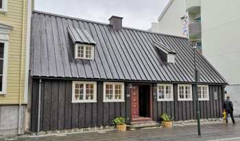 Oldest building in downtown Reykjavik