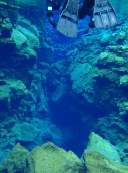 Fissure between Tectonic Plates