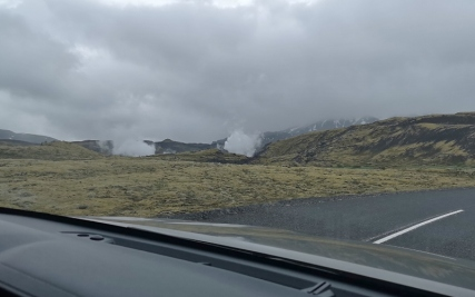 Geothermal plant along 360